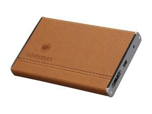 COOLMAX HD-250CL-Esata Brown External Enclosure