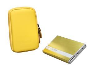 COOLMAX HD-250YL-eSATA Yellow External Enclosure