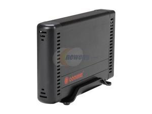 "COOLMAX HD-381BK-U3 3.5"" Gray SATA I/II USB 3.0 External Enclosure w/OTB Function"