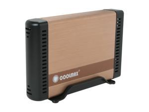 COOLMAX HD-381BZ-U3 Copper External Enclosure w/USB3.0 Connection & OTB Function
