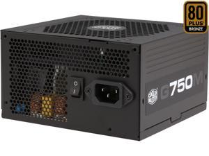 Cooler Master GM Series G750M - Compact 750W 80 PLUS Bronze Modular PSU (6th Generation Skylake Compatible)