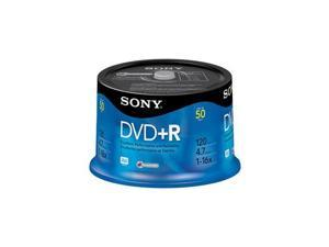 SONY 4.7GB 16X DVD+R 50 Packs Disc Model 50DPR47RS4