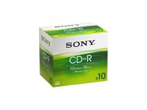 SONY 700MB 48X CD-R 10 Packs Disc