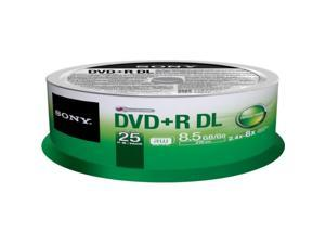 SONY 8.5GB DVD-R 25 Packs Disc