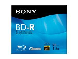 SONY 25GB 6X BD-R Single Disc Model BNR25R3H/2