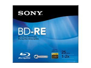 SONY 25GB 2X BD-RE Single Disc Model BNE25RH/2