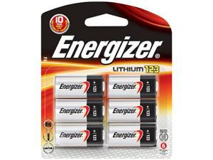 Energizer EL123BP-6 6 PK Batteries