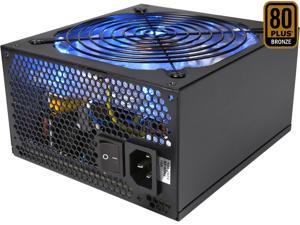 Rosewill RBR1000-MS - BRONZE Series - 1000-Watt Active PFC Power Supply - Continuous @ 104 Deg. F (40C), 80 PLUS Bronze, Semi-Modular Cable Design, ATX 12V v2.3 / EPS 12V, SLI & CrossFire Ready
