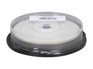 Rosewill 25GB 4X BD-R Inkjet Printable 10 Packs White Inkjet Hub Printable Model RCDM-10004
