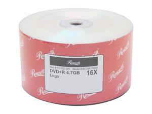Rosewill 4.7GB 16X DVD+R 50 Packs Disc Model RCDM-10005
