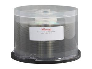 Rosewill 25GB 6X BD-R 50 Packs Blank Blu-ray Media Shiny Silver Model RCDM-10011 - OEM