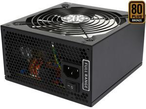 Rosewill Glacier-600M, Glacier Series 600W Modular Power Supply with Silent Aero-Diversion Fan, 80 PLUS Bronze Certified, Single +12V Rail, Intel 4th Gen CPU Ready, SLI & Crossfire Ready