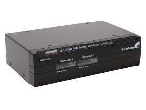 StarTech SV231UADVI 2 Port DVI + USB KVM Switch with Audio