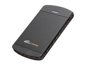 EAGLE ET-CS2PESU2-BK Black External Enclosure with built-in USB cable