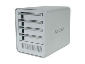 ICY DOCK MB561US-4S-1 Aluminum HDD Enclosure for Mac & PC