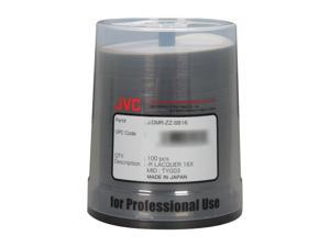 JVC 4.7GB 16X DVD-R Thermal Printable 100 Packs Disc Model JDMR-ZZ-SB16