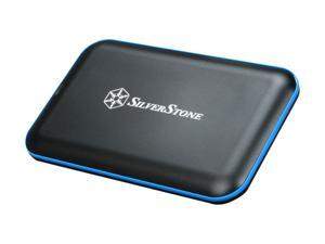 "SilverStone TS04B 2.5"" Black USB 3.0 External Enclosure"
