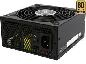SILVERSTONE SX500-LG 500W SFX-L 80 PLUS GOLD Certified Full Modular Active PFC Power Supply, Silent running 120mm fan with 18dBA minimum (SX500-LG V2.0)