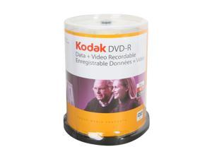 Kodak 4.7GB 16X DVD-R 100 Packs Disc Model 50300