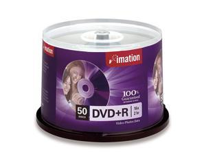 imation 4.7GB 16X DVD+R 50 Packs Disc Model 17343