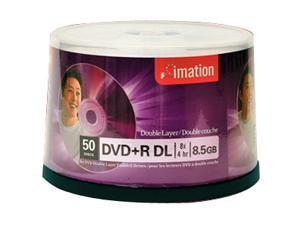 imation 8.5GB 8X DVD+R DL 50 Packs Disc Model 27237