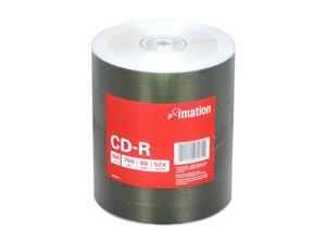 imation 700MB 52X CD-R 100 Packs Disc Model 27274 - OEM