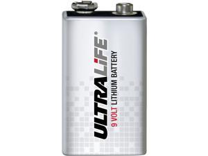 Ultralife Long-Life 9V Lithium Alkaline Battery