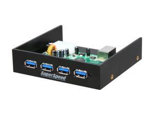 "Koutech IO-FPH431 4-Port USB 3.0 Front Panel Hub (3.5"")"