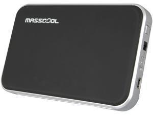 MASSCOOL UHB-2221 Black / Silver External Enclosure w/OTB function