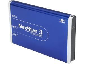 VANTEC NEXSTAR 3 NST-260SU-BL Blue External Enclosure