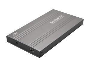 """Vantec NexStar TX 2.5"""" SATA to USB 2.0 External Hard Drive / SSD Enclosure - Model NST-210S2-BK"""