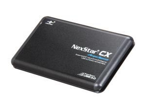 "Vantec NexStar CX SuperSpeed 2.5"" SATA to USB 3.0 External Hard Drive/SSD Enclosure (Supports 7mm, 9.5mm, 12.5mm HDD/SSD) - Model NST-200S3-BK"