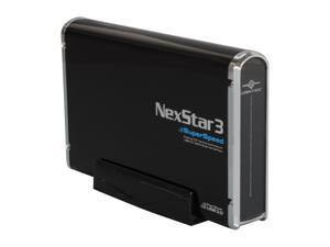 VANTEC NST-380SU3-BK Black NexStar 3 SuperSpeed Enclosure