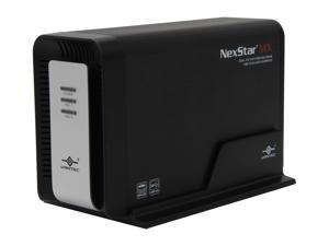 "Vantec NexStar MX Dual Bay 3.5"" SATA to USB 3.0 / eSATA RAID Enclosure"