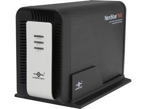"VANTEC NexStar MX NST-400MX-S3 3.5"" Black SATA USB 3.0 Dual 3.5""SATA to USB 3.0 With JBOD External Hard Drive Enclosure"