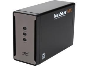 "VANTEC NST-225MX-S3 2.5"" Black Dual 2.5"" SATA 6Gb/s to USB 3.0 HDD/SSD RAID Enclosure"