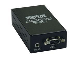 Tripp Lite VGA + Audio over Cat5 Receiver http://www.tripplite.com/en/products/model.cfm?txtModelID=4295