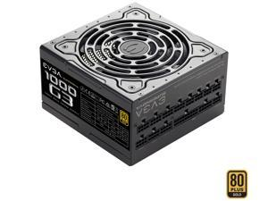 EVGA SuperNOVA 1000 G3, 220-G3-1000-X1, 80+ GOLD, 1000W Fully Modular, EVGA ECO Mode with New HDB Fan, Includes FREE Power On Self Tester, Compact 150mm Size, Power Supply