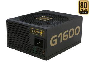 LEPA G Series G1600-MA 1600W ATX12V / EPS12V SLI Ready CrossFire Ready 80 PLUS GOLD Certified Full Modular Power Supply
