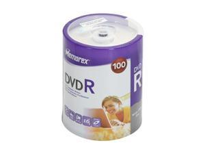 memorex 4.7GB 16X DVD-R 100 Packs Disc Model 034707978379