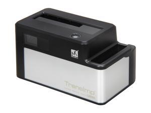 Mukii TransImp TIP-D185U3-BK Black / Silver Super-Speed Docking with Transmission Speed LCD