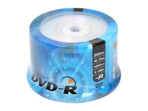 MicroNet 4.7GB 16X DVD-R 50 Packs Disc Model DVD-R50 - OEM