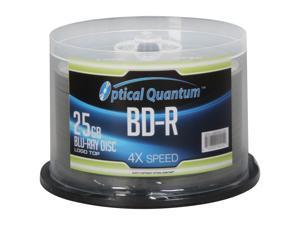 Vinpower Digital 25GB 4X BD-R 50 Packs Disc Model OQBDR04LT-50