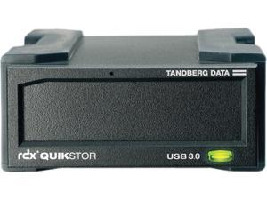 Tandberg Data RDX QuikStor 8782-RDX Drive Dock External - Black