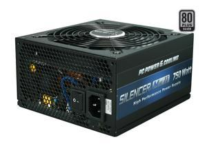 PC Power and Cooling Silencer Mk II 750W High Performance 80PLUS Silver SLI CrossFire Intel Haswell Ready Power Supply