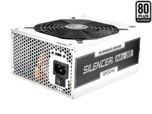 PC Power & Cooling Silencer MK III 1200W 80Plus Platinum Metallic Aviation Semi-Modular ATX PC Power Supply PPCMK3S1200 by ...