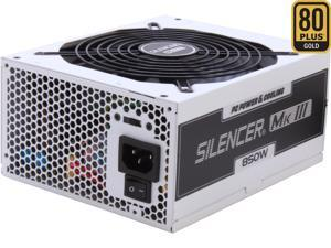 PC Power & Cooling Silencer Series 850 Watt 80+ Gold Semi-Modular Active PFC Industrial Grade ATX PC Power Supply (PPCMK3S850)
