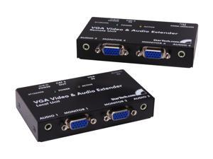 StarTech VGA Video Extender over Cat 5 with Audio ST122UTPA