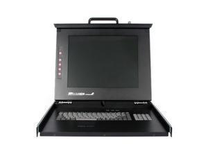 """StarTech RACKCONS1501 1U 15"""" Folding Rackmount LCD Console"""