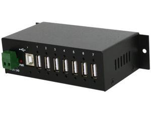 StarTech ST7200USBM Mountable Rugged Industrial 7 Port USB Hub